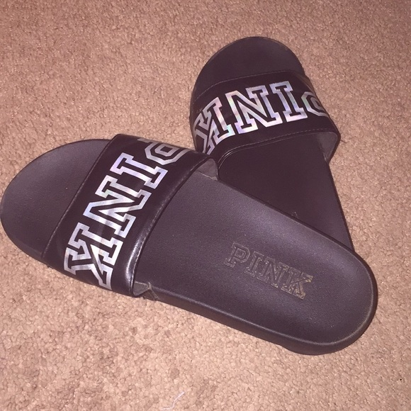 Shoes | Pink Brand Slides | Poshmark